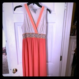 Flying Tomato Coral Dress! So pretty! Sz S
